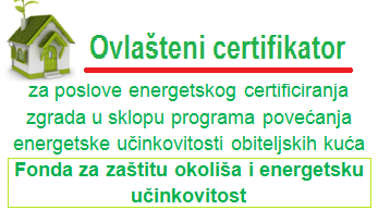 Ovlašteni energetski certifikator FZOEU